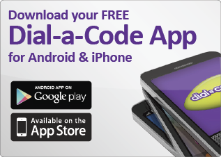 Dial-a-Code App for Android and iPhone